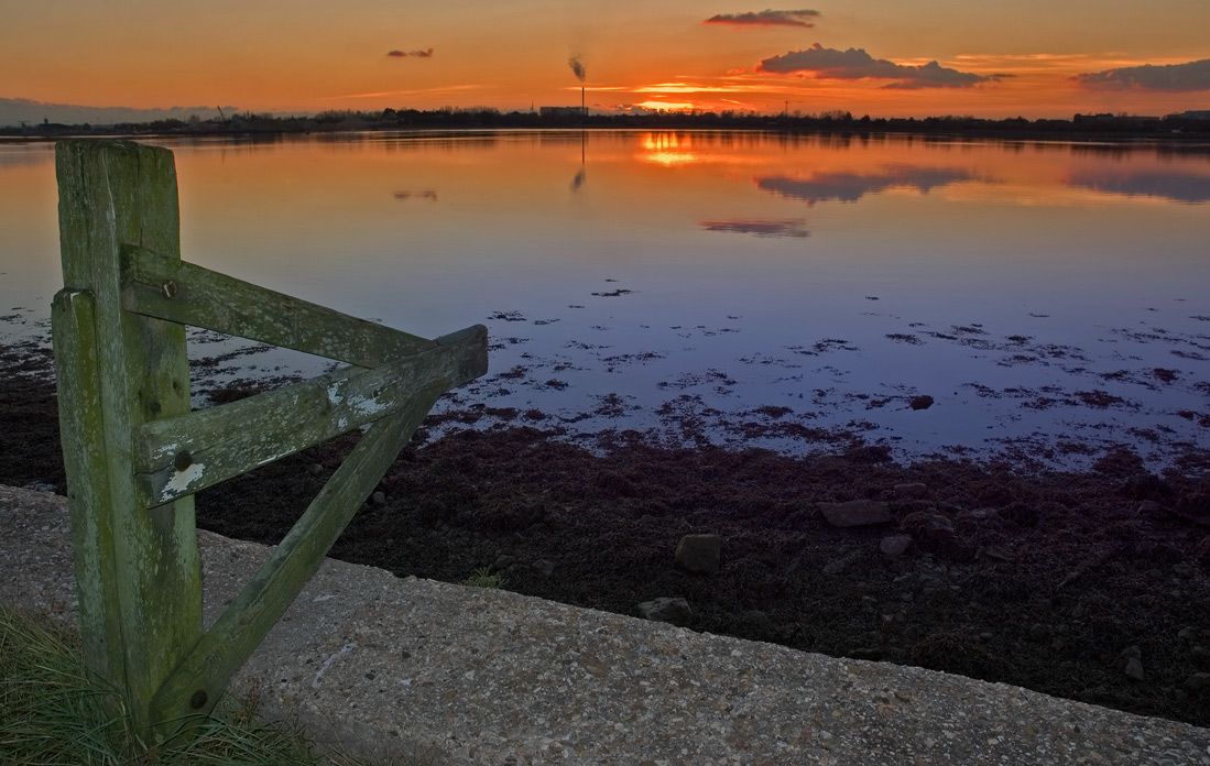 Langstone Sunset